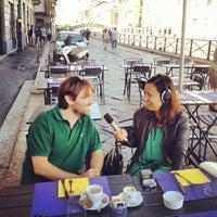 Photo taken at Ponte Rosso by Simon B. on 9/15/2012