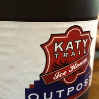 Photo taken at Katy Trail Ice House Outpost by Courtney M. on 6/12/2013