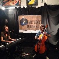 Photo taken at Mutiny Radio by Abbot K. on 9/22/2014
