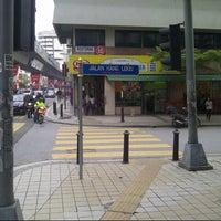 Photo taken at Jalan Hang Lekiu by Daniel Y. on 6/7/2013