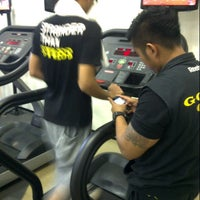 Photo taken at Gold Gym Thamrin city by Adhe A. on 4/28/2013