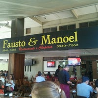 Photo taken at Fausto & Manoel by Sérgio L. on 8/11/2013
