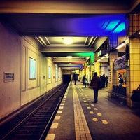 Photo taken at Bahnhof Berlin Friedrichstraße by Ilya on 3/22/2013