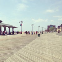 Photo taken at Coney Island Beach & Boardwalk by Reema A. on 6/9/2013
