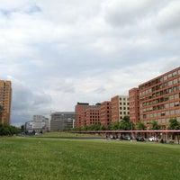 Photo taken at Tilla-Durieux-Park by rue.de on 6/26/2013