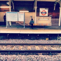Photo taken at Bushey Railway Station (BSH) by Andrew W. on 10/12/2012