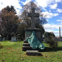 Photo taken at Green-Wood Cemetery by Jamie on 11/3/2012