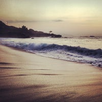 Photo taken at Waimea Bay by Christopher L. on 11/5/2012