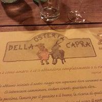Photo taken at Osteria Della Capra Di Belli Romana E Angela by Claudio on 6/8/2013
