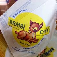 Photo taken at Bambi Cafe by Mehmet Ö. on 8/16/2013