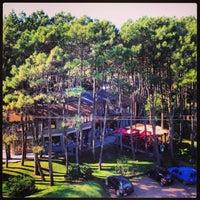 Photo taken at Aldea Hippie by Andrea C. on 7/26/2013