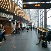 Photo taken at Riga International Airport (RIX) by Maria B. on 8/12/2013
