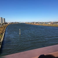 Photo taken at 飯塚橋 by admire m. on 12/10/2016