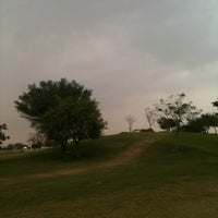 Photo taken at Aspire Park by Abdullah A. on 2/2/2014