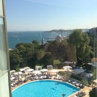 Photo taken at Swissôtel The Bosphorus, Istanbul by Edin P. on 7/24/2013