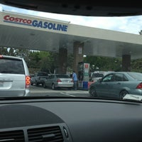 Photo taken at Costco Gas by rosedobbs on 7/1/2013