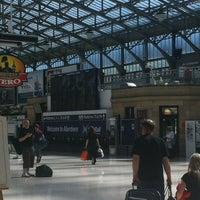 Photo taken at Aberdeen Railway Station (ABD) by Paul C. on 6/16/2013