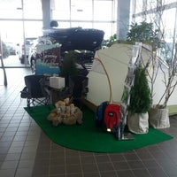 Photo taken at Bloomington Acura Subaru by Chaz C. on 4/13/2013