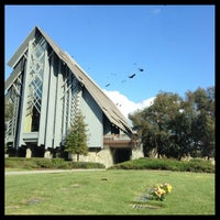 Photo taken at Rose Hills Memorial Park & Mortuary by Billy U. on 2/9/2013