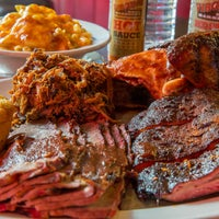 Photo taken at Virgil's Real BBQ by Virgil's Real BBQ on 4/8/2014