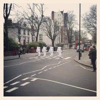 Photo taken at Abbey Road Crossing by Luiz L. on 1/8/2013