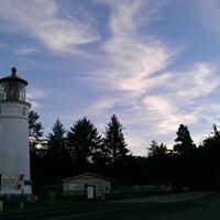 Photo taken at Umpqua Lighthouse State Park by Jeremiah O. on 1/2/2013