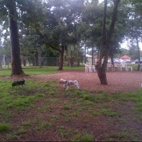 Photo taken at Estero Community Park Dog Run by Heather L. on 8/2/2013
