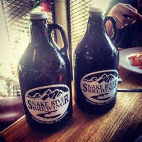 Photo taken at Snake River Brewery & Restaurant by Nick G. on 12/28/2012