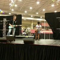 Photo taken at Kansas Star Arena by Jason R. on 5/27/2014