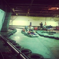 Photo taken at Indy Karts by Jimmy Tuan L. on 3/13/2013