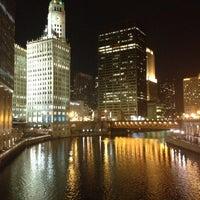 Photo taken at Chicago Riverwalk by Abdulrahman A. on 11/28/2012