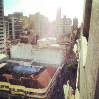Photo taken at Rua Sergipe by Cristian H. on 1/31/2014