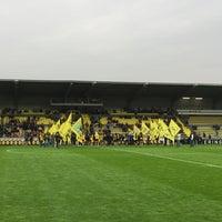 Photo taken at Herman Vanderpoortenstadion   Het Lisp by Maarten G. on 4/26/2015