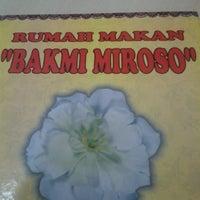 Photo taken at Bakmi Miroso by Robert F. on 7/9/2014