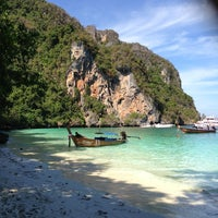 Photo taken at Phi Phi Island by Julie M. on 2/9/2013