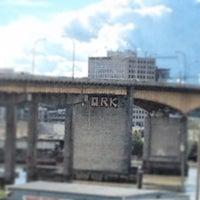 Photo taken at Oak Street Bridge by Jay M. on 6/13/2013