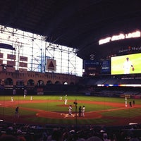 Photo taken at Minute Maid Park by Jon K. on 7/2/2013