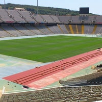 Photo taken at Estadi Olímpic Lluís Companys by Stijn I. on 7/18/2013