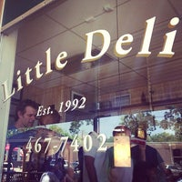 Photo taken at Little Deli & Pizzeria by Sam R. on 5/10/2013