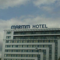 Photo taken at Bellevue Park Hotel Riga by Evija M. on 6/27/2013