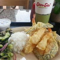 Photo taken at SanSai Japanese Grill by Jema A. on 11/12/2013