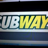Photo taken at Subway by Rico B. on 7/31/2013