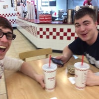 Photo taken at Five Guys by Jimmy G. on 4/10/2014