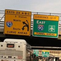 Photo taken at 4th Street Bridge by AElias A. on 7/28/2013