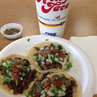 Photo taken at King Taco Restaurant by David G. on 6/12/2013