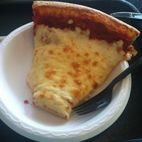 Photo taken at Rosati's Pizza by Carolyn on 7/23/2013