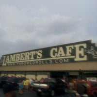 Photo taken at Lambert's Cafe by Denise H. on 7/23/2013