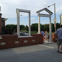 Photo taken at The President's House Site by Dewey T. on 6/15/2013