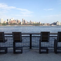 Photo taken at East River Esplanade by Tilo G. on 5/16/2013