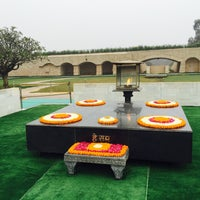 Photo taken at Gandhi Memorial Museum by Melissa U. on 1/15/2016